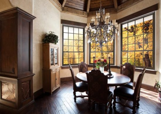 Dining Room Double Hung Window