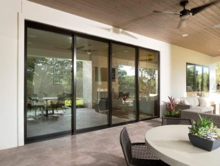 Gliding Glass Door